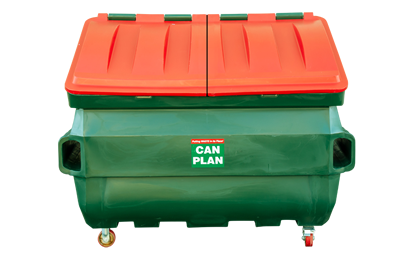 Business Bins Red 3m Bin