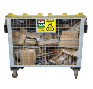 Business Bins Recycling Cage